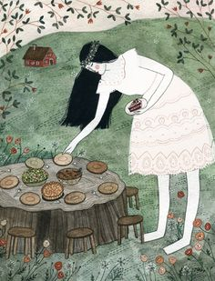 "Yelena Bryksenkova: Goldilocks – for ""Fairytale Food"" by Lucie Cash"