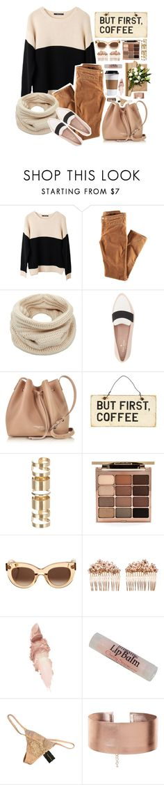"""Cute"" by serenadaiana-sosa ❤ liked on Polyvore featuring Ash Rain + Oak, H&M, Helmut Lang, Kate Spade, Lancaster, Atmos&Here, Stila, CÉLINE, Gripoix and Maybelline"