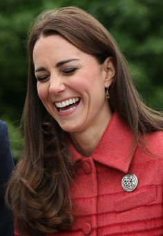Catherine, Duchess of Cambridge during a visit to Strathearn Community Campus on May 29, 2014 in Crieff, Scotland.