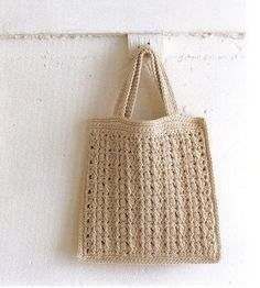 Various crochet bags. French and Japanese instructions.
