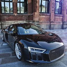 Audi the black knight # Quattrol love. This is empiror of audi car Bugatti, Maserati, Lamborghini, Ferrari, Dream Cars, My Dream Car, Luxury Boat, Luxury Cars, Dodge