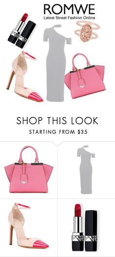 """Untitled #23"" by smuxe ❤ liked on Polyvore featuring Fendi, Topshop, Givenchy, Christian Dior and Kendra Scott"