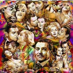 ~ Clark Gable ~ The True King Of The Silver Screen ~ I enjoy ALL his movies