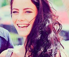 Kaya Scodelario should definitely smile more often.