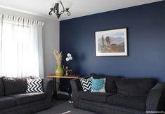 29 Ideas Home Cozy Living Room Wall Colors Blue Feature Wall Living Room, Modern Living Room Paint, Beige Living Rooms, Accent Walls In Living Room, Elegant Living Room, Paint Colors For Living Room, Cozy Living Rooms, Living Room Designs, Living Room Decor