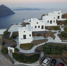 MORNING • by thesuites SANTORINI aenaon #greece #santorini #white #thesuites #residences #nohotels