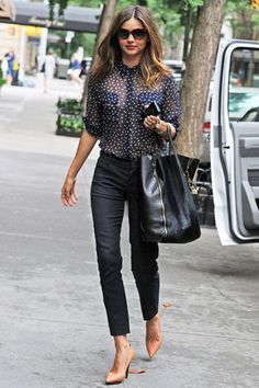 Miranda Kerr on Personal Style - Best Miranda Kerr Style Photos - Harper's BAZAAR
