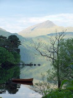 Scotland's Loch Lomond is like something straight out of a Victorian romance novel. (From: Photos: 12 Most Beautiful Lakes )