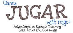 Wanna Jugar with Migo? A list of body part activities Que falta el Sr. Papa?