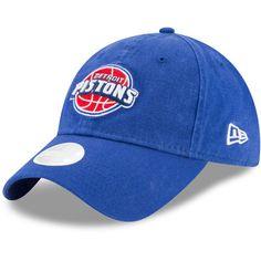 960784d124cd3 Women's New Era Royal Detroit Pistons Preferred Pick 9TWENTY Adjustable Hat