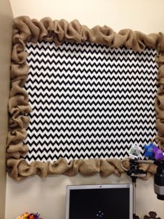 First Grade Glitter and Giggles: Classroom Reveal.Burlap & Black First Grade Glitter and Giggles: Classroom Reveal.