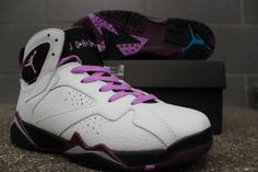 """Air Jordan 7 GS """"Fuchsia Glow"""", Women size eur 36-40 available Any interested, PM me pls."""