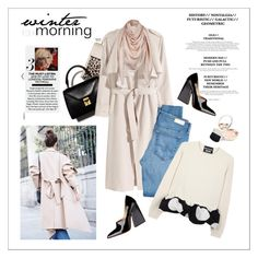 """Winter morning"" by amaryllis ❤ liked on Polyvore featuring Levi's, H&M, AG Adriano Goldschmied, Boutique Moschino and By Terry"