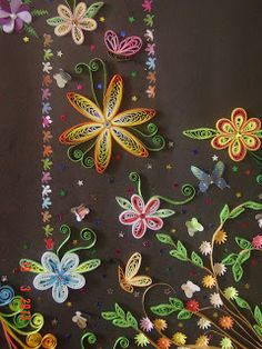 Faith's Quilling: Art of quilling, Quilled flowers, Quilling