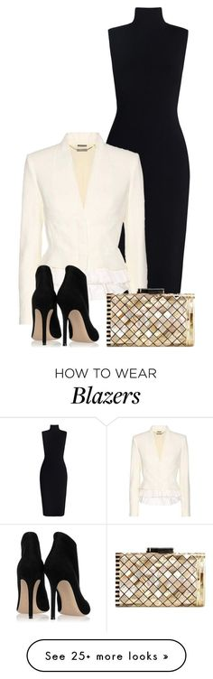"""Workwear"" by larycao on Polyvore featuring Zimmermann, Alexander McQueen, Gianvito Rossi and Nathalie Trad"