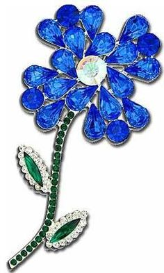 Eisenberg Flower Brooch