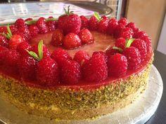 Cheesecake gelatina di lamponi