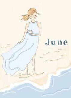 Rose Hill Designs by Heather Stillufsen Days And Months, Months In A Year, Rose Hill Designs, Monica Crema, Neuer Monat, Hello June, Hello Summer, Ecole Art, New Month