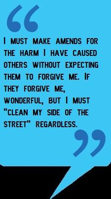Hardest part is not expecting forgiveness or being allowed to try and show you are trying to be different. It is very important to make amends so you can continue on the road to recovery. Great Quotes, Quotes To Live By, Life Quotes, Inspirational Quotes, Qoutes, Addiction Recovery, Addiction Quotes, Addiction Help, Celebrate Recovery