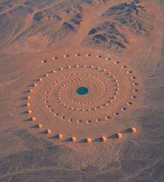 Desert Breath – Une incroyable installation de Land Art (image)