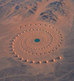Desert Breath – Une incroyable installation de Land Art