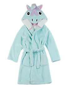 Unicorn Design Dressing Gown (1-8 Years)