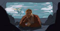obiwan needed a drink by javvie Space Battles, War Comics, Star Wars Wallpaper, Star Wars Fan Art, Star Wars Ships, Star War 3, Obi Wan, Clone Wars, Far Away