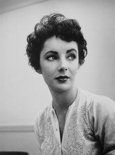 Elizabeth Taylor (1932-2011), date unknown.