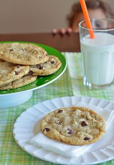 Someone else says.....Make these cookies!! And follow the directions precisely! I thought they were weird but I did and it paid off! I will never make another chocolate chip cookie recipe again!!