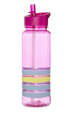 Primark - Botella rosa rellenable de silicona