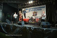 Michele Lundeen performing at the 8th annual San Felipe Blues & Arts Fiesta held March 28th - 29th, 2014 #sanfelipe #sanfelipebluesandarts