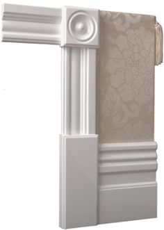 Classic Architraves | Edwardian Architectural and Decorative Mouldings, Edwardian Wall Skirting Boards, Edwardian Architraves