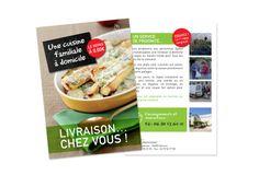 MATTAM : leaflet livraison à domicile association DIACONAT PROTESTANT, graphisme studio It's me.