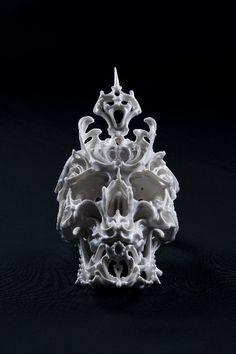 Predictive Dream by Katsuyo Aoki - Skullspiration.com - skull designs, art, fashion and more