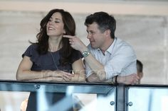 Crown Princess Mary and Crown Prince Frederik.... I love them! They always look so happy together!