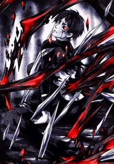 """Levi stared in stunned shock. """"Eren...?"""" He had never imagined that Eren would be the one eyed ghoul he had fought two nights ago."""