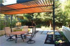 Modern, Pergola  Modern Landscaping  Huettl Landscape Architecture  Walnut Creek, CA