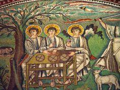 Trinity mozaic, Ravenna, Italy