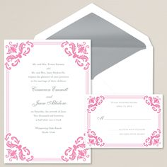 Victorious Love Wedding Invitation | Victorian era style | #exclusivelyweddings