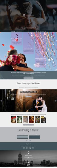 Wedding-agency website on Behance Wedding Website, Wedding Designs, Behance, Wedding Photography, How To Get, Creative, Wedding Photos, Wedding Pictures, Bridal Photography