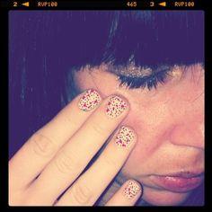 Love polka dot nails :)