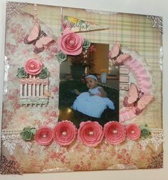 Layout I did for a friend by Delores Miller