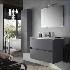 Mobile bagno sospeso design moderno n.40