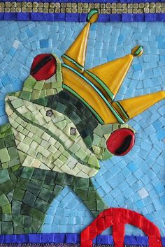 Frog Mosaic by Beatrice I.