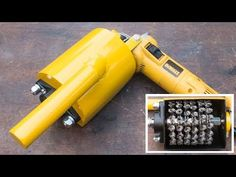 Angle grinder hack, make your own multiple wire wheel attachment - YouTube