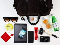 What the Vogue Australia ladies are keeping in their bags for Fashion Week. -Christine Centenera, Senior Fashion Editor-Sigourney Cantelo, Beauty  Health Director-Zara Wong, Online Producer-Edwina McCann, Editor-in-Chief-Genevra Leek, Fashion Features Editor-Rebecca Caratti, Style Editor You can read the detailshere.