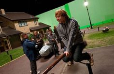 Find images and videos about harry potter, ron weasley and rupert grint on We Heart It - the app to get lost in what you love. Harry Potter World, Photo Harry Potter, Images Harry Potter, Mundo Harry Potter, Harry Potter Cast, Harry Potter Love, Harry Potter Characters, Harry Potter Universal, Collection Harry Potter