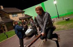 15 photos de tournage de Harry Potter qui valent le détour