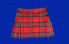 Mini kilt rouge 40.64cm de longeur, 35 euro Product Page, Mini, Tartan, Euro, Fashion Accessories, Skirts, Style, Red, Belly Button