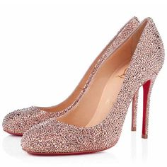 Christian Louboutin Fifi Strass Special Occasion 100mm Strass Nu